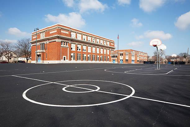 Chicago School Yard:スマホ壁紙(壁紙.com)