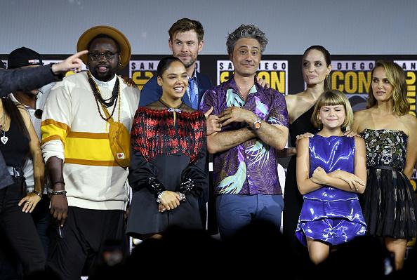アンジェリーナ・ジョリー「2019 Comic-Con International - Marvel Studios Panel」:写真・画像(6)[壁紙.com]