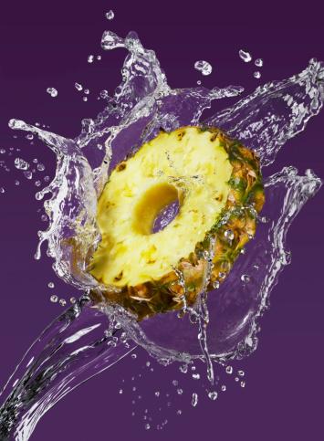 Pineapple「Pineapple slice splash」:スマホ壁紙(6)