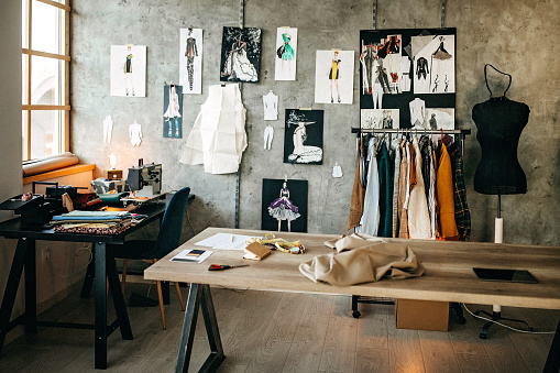 Fashion Industry「Tailor studio」:スマホ壁紙(10)