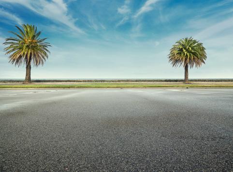 Parking Lot「Beach parking lot」:スマホ壁紙(16)
