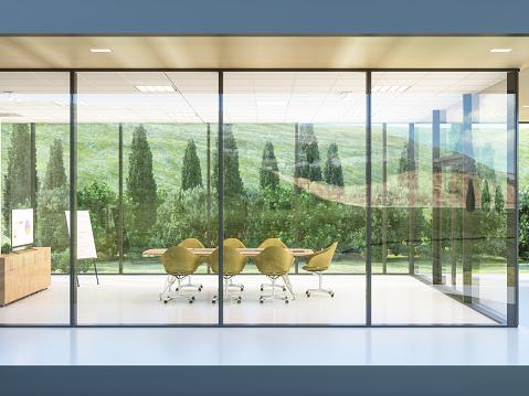 Convention Center「Exterior of a build contemporary office」:スマホ壁紙(8)