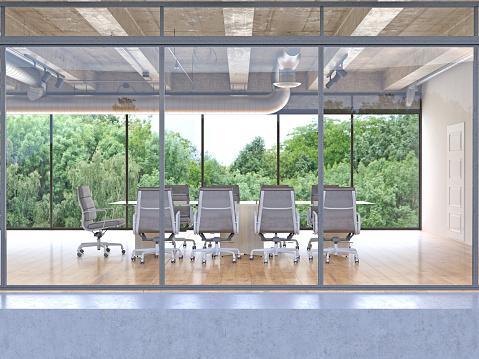 Business Meeting「Exterior of a build modern office building」:スマホ壁紙(13)