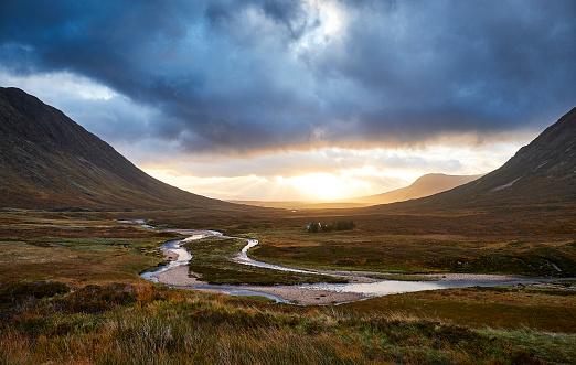 Scotland「Glencoe view over the vally」:スマホ壁紙(15)