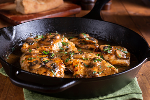 Cast Iron「Chicken Marsala」:スマホ壁紙(13)