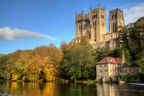Cathedral「Durham Cathedral and the Old Fulling Mill」:スマホ壁紙(4)
