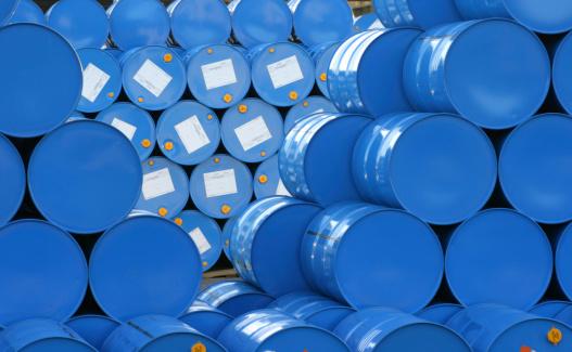 Poisonous「A warehouse full of blue Hugh barrels 」:スマホ壁紙(6)