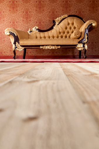 Old-fashioned「Chaise Longue In The Drawing Room」:スマホ壁紙(7)