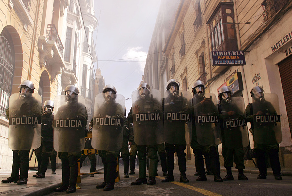 Riot Police「Demonstrations In Bolivia Continue, Turn Violent」:写真・画像(19)[壁紙.com]