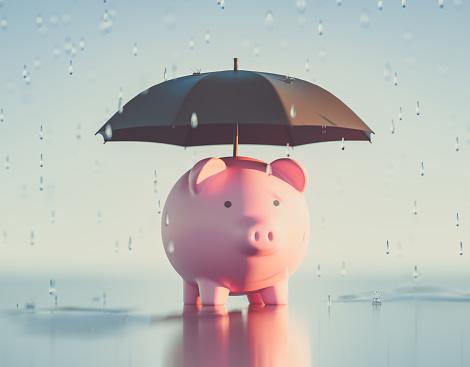 Insurance「Piggy Bank,3d Render」:スマホ壁紙(18)