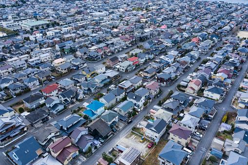 Effort「A town where detached houses spread」:スマホ壁紙(2)