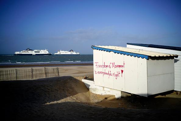 Calais「Activity At Calais As The UK Enters Brexit Transition Period」:写真・画像(6)[壁紙.com]
