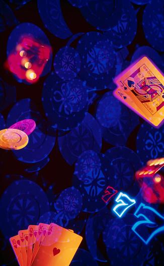 Multiple Exposure「Gambling」:スマホ壁紙(13)