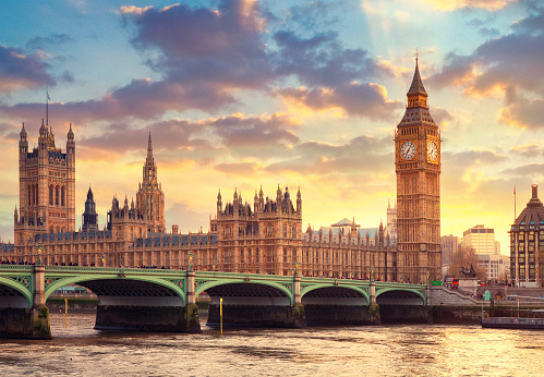 Hope - Concept「The Big Ben in London and the House of Parliament」:スマホ壁紙(6)
