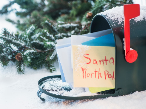 Hope - Concept「Letter to Santa Claus in mailbox」:スマホ壁紙(15)