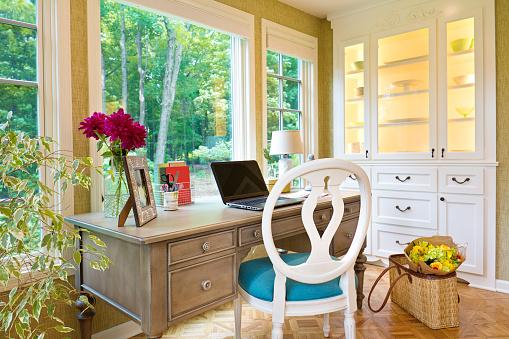 Laptop「Modern Contemporary Interior Design of Home Office」:スマホ壁紙(15)