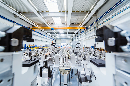 Industry「Factory shop floor」:スマホ壁紙(12)