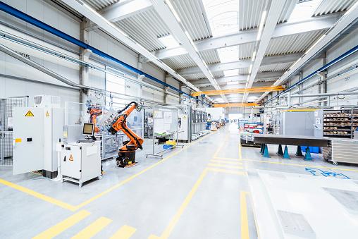 Technology「Factory shop floor」:スマホ壁紙(7)