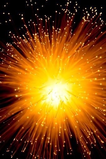 Bang - Single Word「Starburst pattern of fiber optic strands」:スマホ壁紙(8)