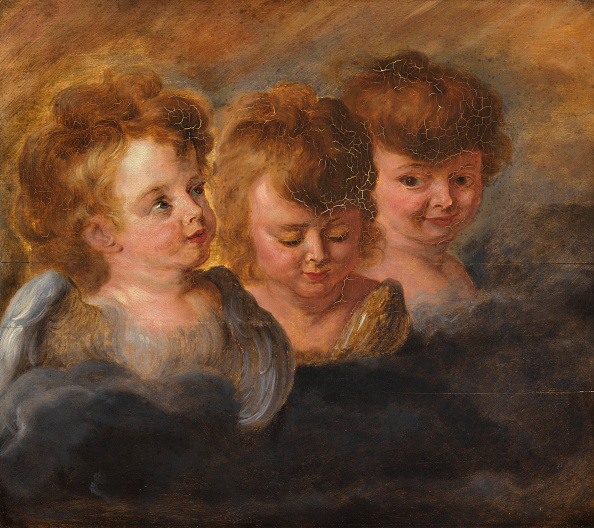 Baroque Style「Three Angel Heads In The Clouds Creator: Rubens」:写真・画像(17)[壁紙.com]