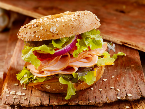 Chicken Meat「Turkey Bagel Sandwich」:スマホ壁紙(17)