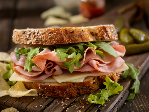 Whole Wheat「Ham, Swiss and Arugula Sandwich」:スマホ壁紙(16)