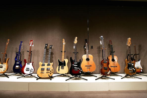 Rock Music「Christies Auctions Off Rock N Roll Memorabilia」:写真・画像(3)[壁紙.com]