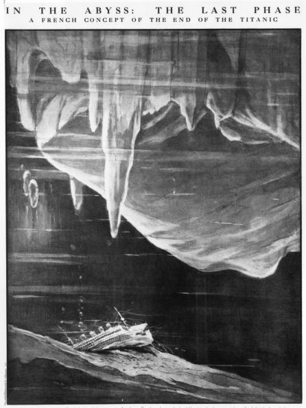 Underwater「End Of The Titanic」:写真・画像(10)[壁紙.com]