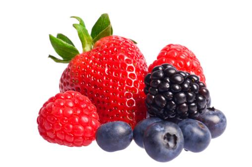 Berry Fruit「Isolated berries」:スマホ壁紙(10)