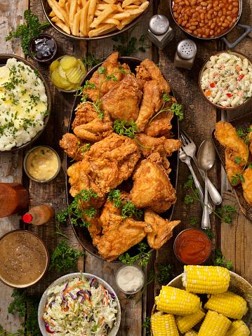 Chicken Wing「Fried Chicken Feast」:スマホ壁紙(5)