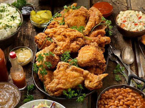 Deep Fried「Fried Chicken Feast」:スマホ壁紙(10)
