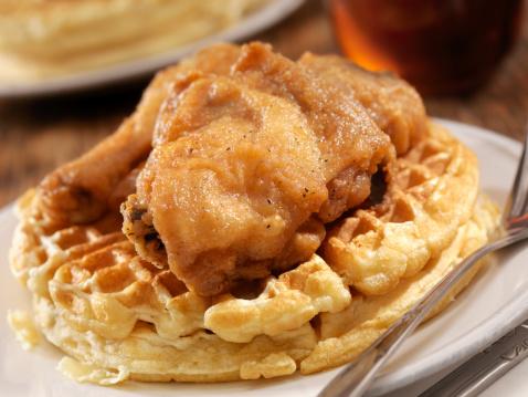 Chicken Wing「Fried Chicken and Waffles」:スマホ壁紙(6)