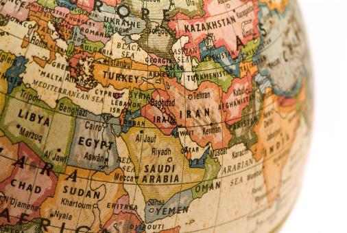 Iranian Culture「Mini Globe Middle East」:スマホ壁紙(14)