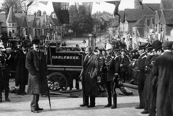 Street「1890S Steam Fire Pump In Haslemere. Creator: Unknown.」:写真・画像(9)[壁紙.com]