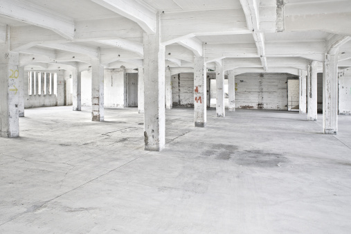 Old Ruin「Old abandoned factory building」:スマホ壁紙(11)