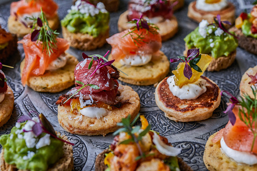 Appetizer「Canapes for party」:スマホ壁紙(4)