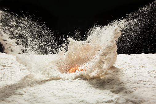 Baking「Drop egg on wheat flour」:スマホ壁紙(17)