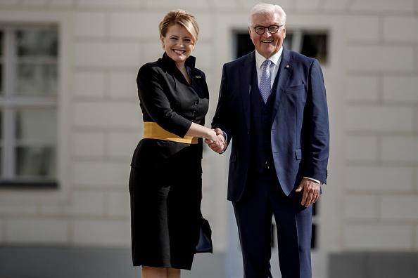 Climate Activist「New Slovak President Caputova Visits Berlin」:写真・画像(12)[壁紙.com]