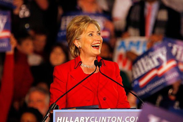 2008「Hillary Clinton Holds Primary Night Event In Columbus」:写真・画像(3)[壁紙.com]