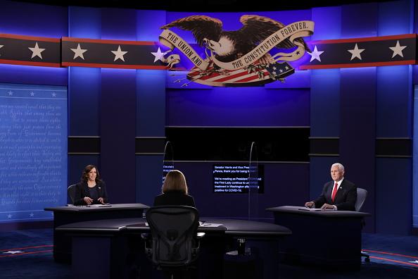 Participant「Mike Pence And Kamala Harris Take Part In Vice Presidential Debate」:写真・画像(15)[壁紙.com]
