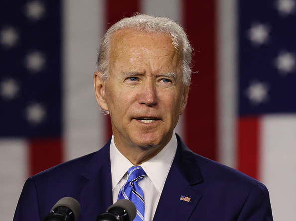 "Headshot「Democratic Presidential Candidate Joe Biden Speaks On His ""Build Back Better"" Clean Energy Economic Plan」:写真・画像(6)[壁紙.com]"