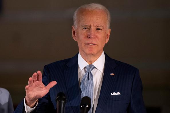ポートレート「Presidential Candidate Joe Biden Makes Primary Night Remarks In Philadelphia」:写真・画像(13)[壁紙.com]