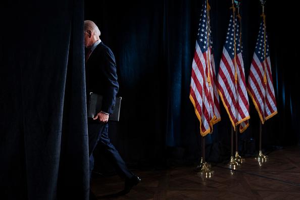 Presidential Election「Candidate Joe Biden Delivers Remarks On Coronavirus Outbreak」:写真・画像(5)[壁紙.com]