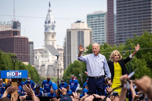 Philadelphia - Pennsylvania「Joe Biden Holds Official Presidential Campaign Kickoff Rally In Philadelphia」:写真・画像(4)[壁紙.com]
