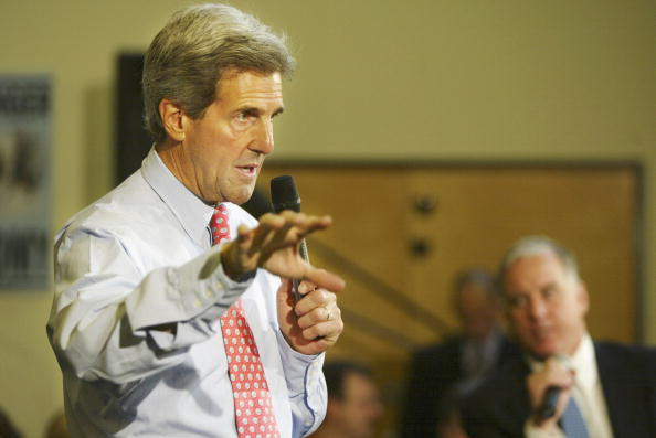 Oregon - US State「Kerry Campaigns In Oregon」:写真・画像(13)[壁紙.com]