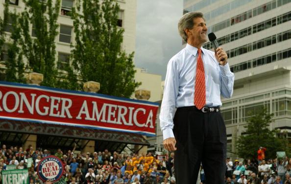 Oregon - US State「Democratic Presidential Candidate John Kerry Campaigns」:写真・画像(19)[壁紙.com]