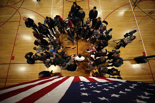 Iowa「Pete Buttigieg Campaigns For President Across Iowa Ahead Of Caucus」:写真・画像(8)[壁紙.com]