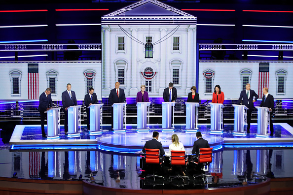Participant「Democratic Presidential Candidates Participate In First Debate Of 2020 Election Over Two Nights」:写真・画像(19)[壁紙.com]