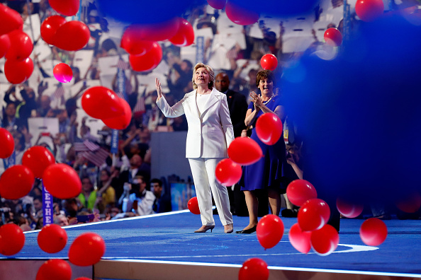 2016 United States Presidential Election「Democratic National Convention: Day Four」:写真・画像(15)[壁紙.com]