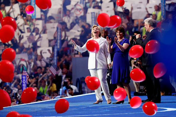 2016 United States Presidential Election「Democratic National Convention: Day Four」:写真・画像(16)[壁紙.com]
